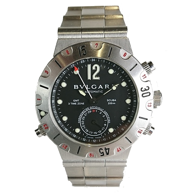 ブルガリ ディアゴノ GMT